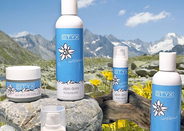 Alpin Derm - mit Edelweiß, Heilkräutern und Stutenmilch