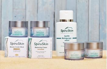 SpiruSkin - Spirulina Intensivpflege